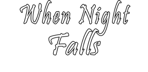When Night Falls Logo