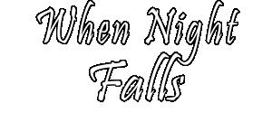 When Night Falls Logo